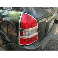 Накладки на стопы Hyundai Tucson