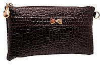 Стильный женский клатч 2211 chocolate