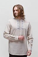 Рубашка мужская Радан серая