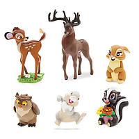 Игровой набор с фигурками Бэмби Disney