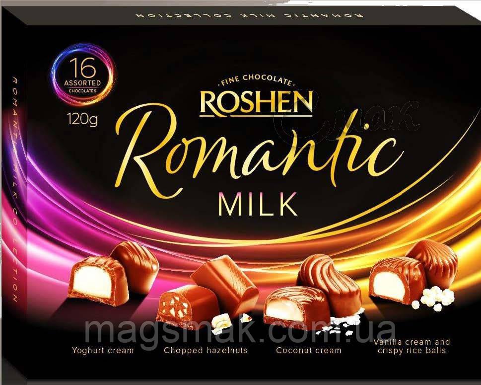 Конфеты в коробке ROSHEN Assortment Romantic (Ассорти), 120 г