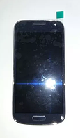Дисплей (модуль) + тачскрин (сенсор) с рамкой для Samsung Galaxy S4 Mini i9190 i9192 i9195 i9198 синий