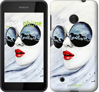 "Чехол на Nokia Lumia 530 Девушка акварелью ""2829u-205"""