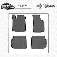 Коврики в салон VW Golf IV c 1997 (4шт) Stingray