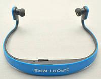 Стерео Беспроводные портативные Wrap Around МР3 плеер спортивные наушники для бега (синий цвет)