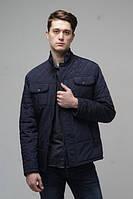 Мужская  куртка   Новая Коллекция  весна 2017года  р-46-56 цвет темно синий