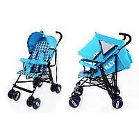 Детская прогулочная коляска трость TILLY Jazz BT-SB-0008 BLUЕ