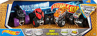 Хот Вилс Hot Wheels Набор из 4-х джипов Monster Jam