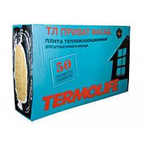 Минеральная вата TERMOLIFE ТЛ Приват Фасад 115(1000х600х50) 2,4 кв м