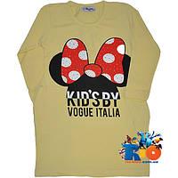 """Детская туника """"Kid`s By Vogue"""" , трикотаж (интрелок) , для девочек от 5-9 лет"""