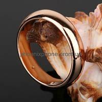 Красивое классическое кольцо, покрытое золотом (11204) 16.5