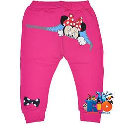 """Детские лосины """"Mystery Minnie Mouse"""" , трикотажные (интрелок) , для девочек от 1-4 лет"""