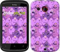 """Чехол на HTC Desire C A320e Принцесса Пупырка. Adventure Time. Lumpy Space Princess v3 """"1228u-225"""""""