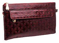 Стильный женский клатч 9220 red