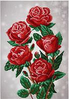Схема для вышивки бисером Красные розы