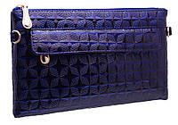 Стильный женский клатч 9220 blue