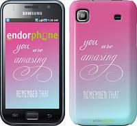 "Чехол на Samsung Galaxy S i9000 Памятка для девушек ""3701c-77"""