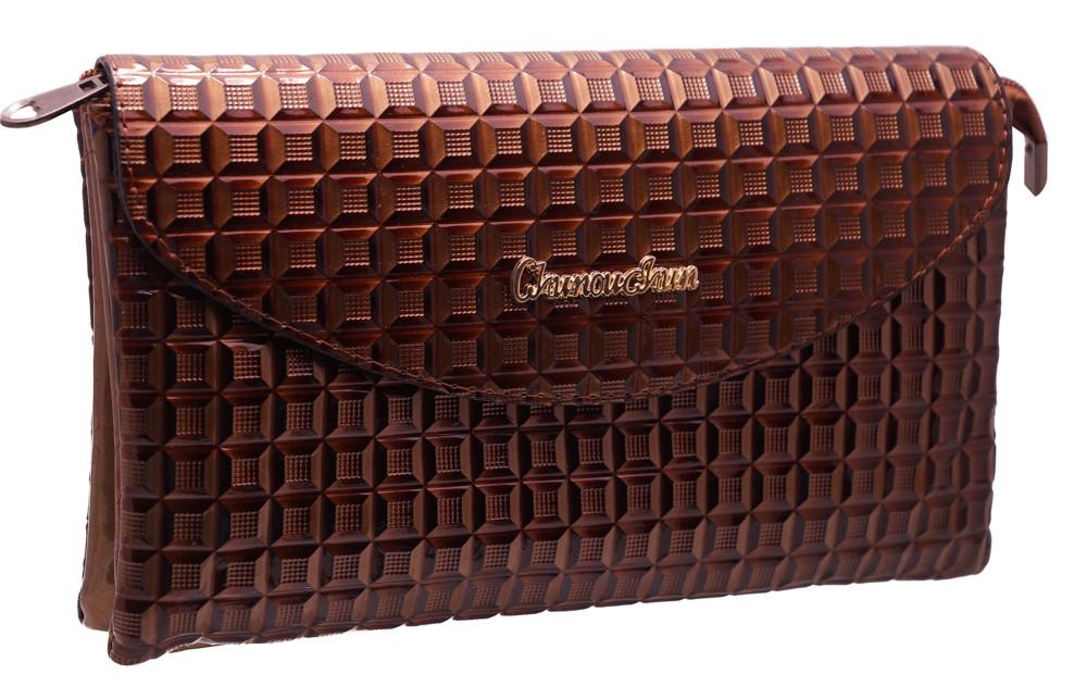 34e2ca431598 Стильный женский клатч B8837 brown: продажа, цена в Харькове ...