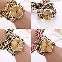 Женские яркие наручные часы Geneva
