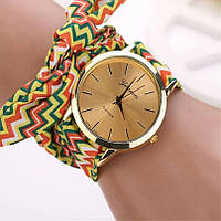 Жіночі наручні годинники Geneva 2, Жовтий, фото 1