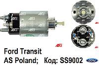 Втягивающее (тяговое) реле стартера Ford Transit 2.4 TD - 2.4 TDi (00-06) Форд Транзит. Соленоид SS9002