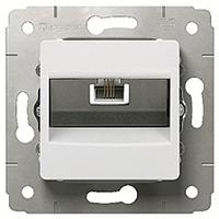 Механизм розетки телефонной RJ11 белый 773638 Legrand Cariva