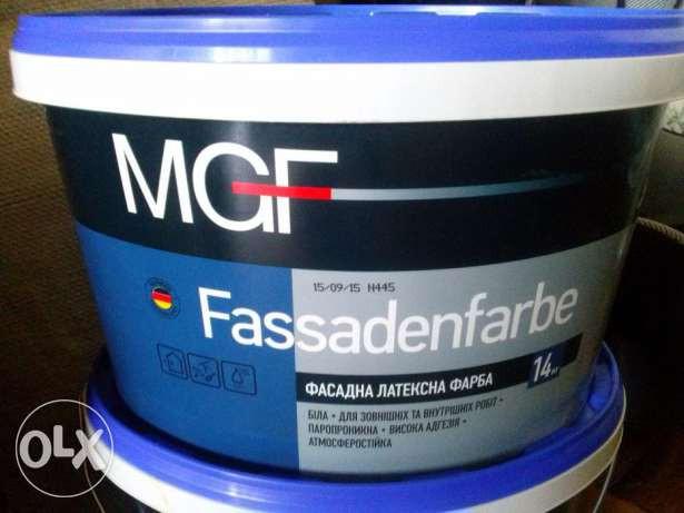 Краски фасадные MGF Fassadenfabe 14 кг