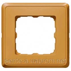 Рамка 1 пост матовое золото Legrand Cariva 773661