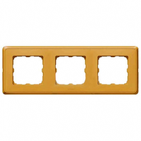 Рамка 3 поста матовое золото Legrand Cariva 773663