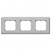 Рамка 3 поста алюминий Legrand Cariva 773673