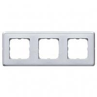 Рамка 3 поста жемчужно-серый Legrand Cariva 773693