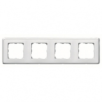 Рамка 4 поста белый Legrand Cariva 773654