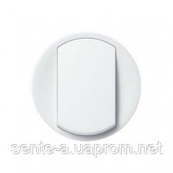 Лицевая панель 1-клавишного выключателя  белый 68001 Legrand Celiane