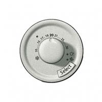 Лицевая панель термостата с датчиком для теплого пола  титан 68549 Legrand Celiane