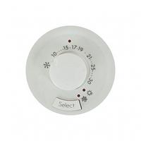 Лицевая панель термостата с датчиком для теплого пола  белый 68249 Legrand Celiane