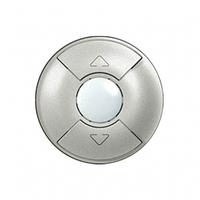 Лицевая панель выключателя управления жалюзи  белый 68151 Legrand Celiane