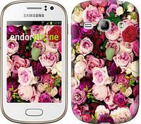 """Чехол на Samsung Galaxy Fame S6810 Розы и пионы """"2875u-254"""""""
