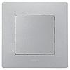 Механизм кнопки 1-клавишной алюминий 672414 Legrand Etika, фото 2