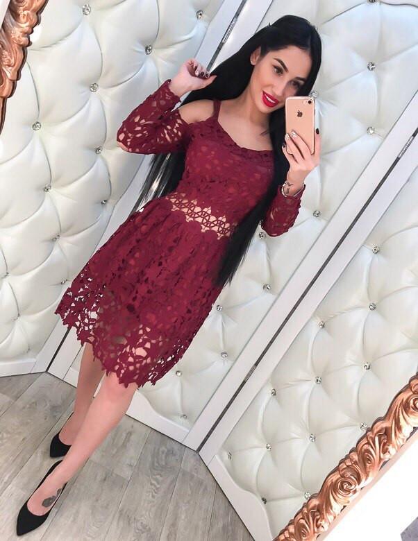 Платье дорогое кружево купить