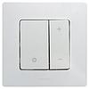 Механизм светорегулятора 400Вт нажимного белый 672218 Legrand Etika, фото 2