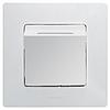 Механизм выключателя для гостиничных номеров 672293 белый Legrand Etika, фото 2