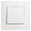 Механизм выключателя 1-клавишного с подсветкой белый 672203 Legrand Etika, фото 2