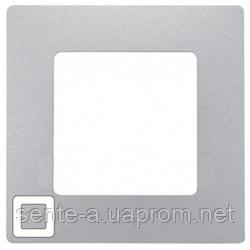 Рамка 1 пост алюминий 672551 Legrand Etika