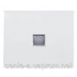Клавиша 1-клавишного выключателя с подсветкой белая Legrand Galea Life 777011
