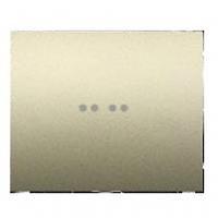Клавиша 1-клавишного выключателя с подсветкой титан Legrand Galea Life 771411