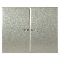 Клавиша 2-клавишного выключателя с подсветкой титан Legrand Galea Life 771479