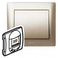Лицевая панель выключателя инфракрасного, 400 Вт титан Legrand Galea Life 771487