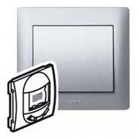 Лицевая панель выключателя инфракрасного, 400 Вт алюминий Legrand Galea Life 771387
