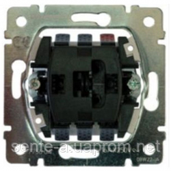 Механизм переключателя промежут. 1-клавишного с подсветкой Legrand Galea Life 775827