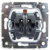 Механизм переключателя 2-клавишного Legrand Galea Life 775808